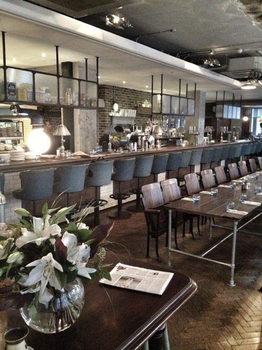 The Riding House Caf In London Restaurant Interior