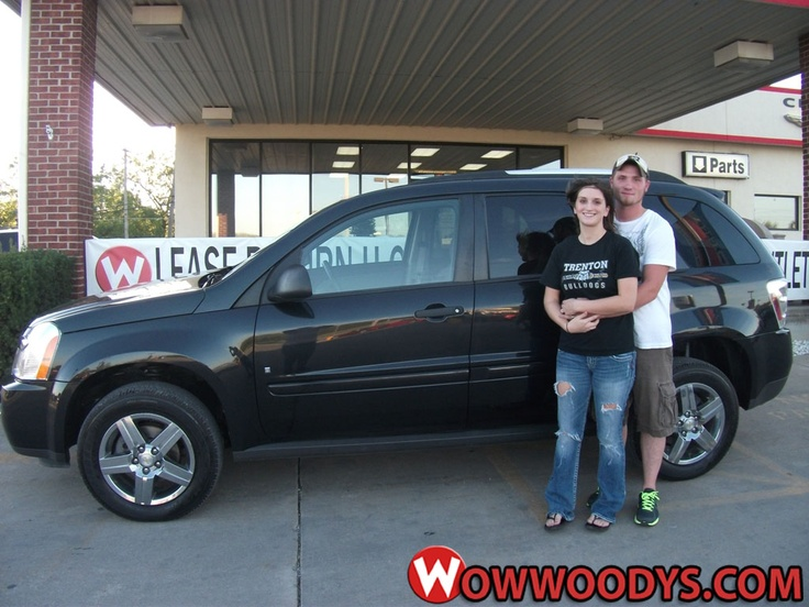 """Dusky and Kaci Baker from Trenton, Missouri purchased this 2008 Chevrolet Equinox and wrote, """"We with an excellent team that did all that they could to make this purchase possible! It was an amazing experience with a family friendly atmosphere."""" To view similar vehicles and more, go to www.wowwoodys.com today!"""