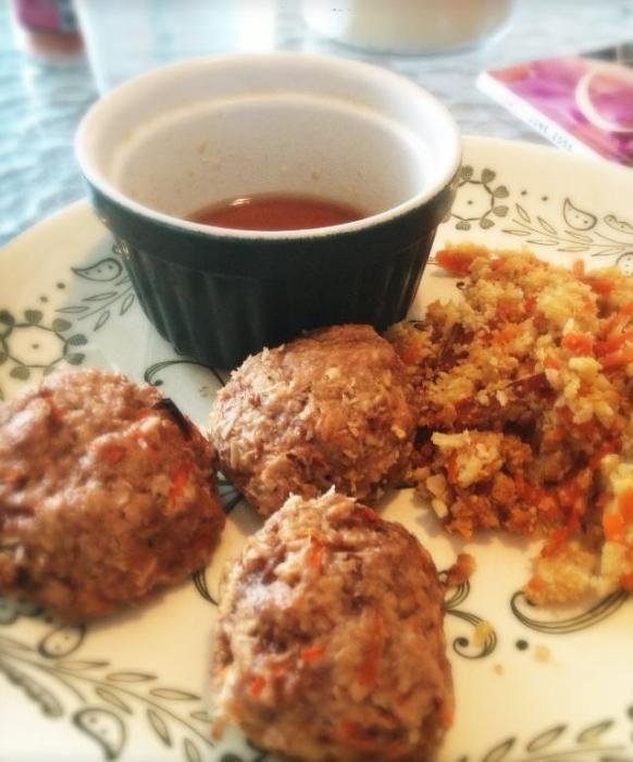 asian meatballs   Paleo Dinner   Pinterest