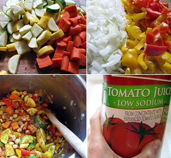 Summer Vegetable Chili Recipe — Dishmaps
