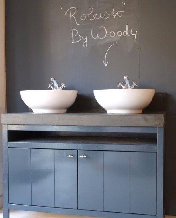 Ikea Badkamer Onderdelen ~ Landelijk badkamermeubel Robusto kunnen wij in iedere gewenst