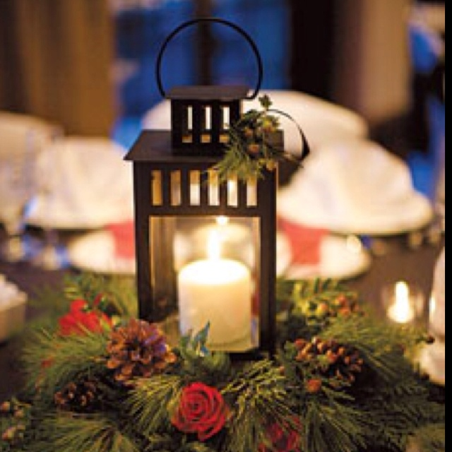Christmas Wedding Centerpiece Idea Event Planning