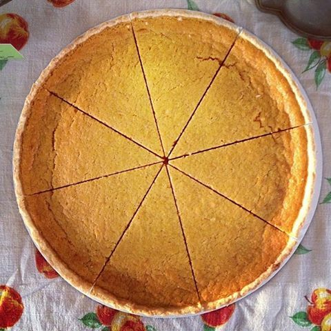Just Ripe's sweet potato buttermilk pie from Daylight Nights!