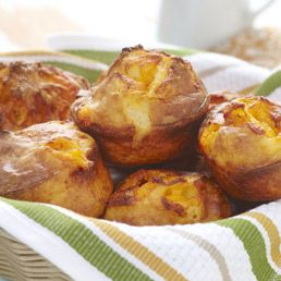 Cheesy Popovers | Good Cooking | Pinterest