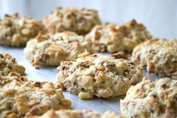 Made these Apricot White Chocolate Scones today and they were delish ...