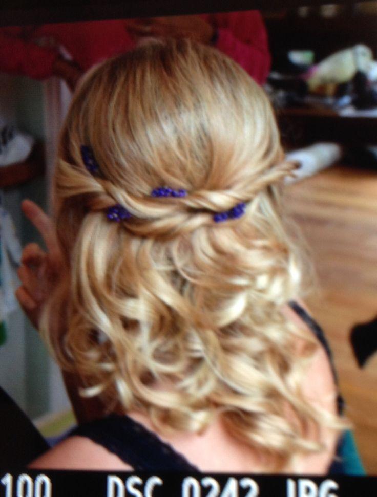 Wedding hair lavender trial | Wedding hair | Pinterest