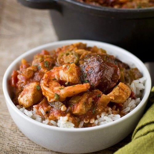Chicken Stew With Okra Recipe — Dishmaps