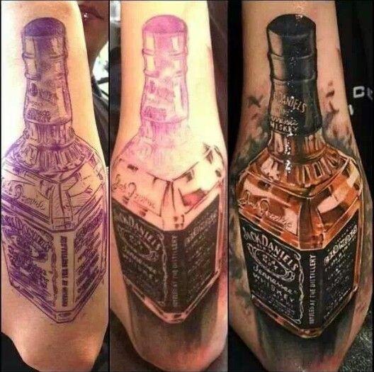 jack daniels tattoo drinks beverages tattoos pinterest. Black Bedroom Furniture Sets. Home Design Ideas