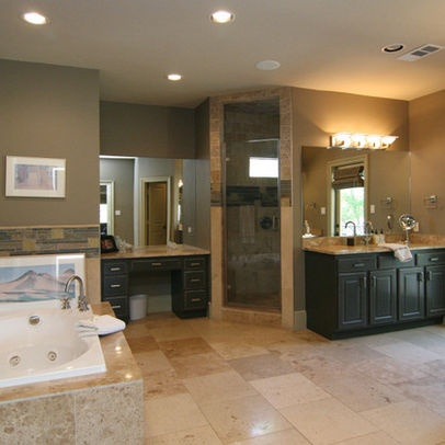 jacuzzi tub and large walk in shower home general
