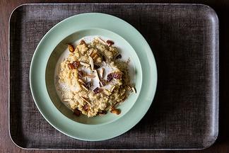 Toasted Almond and Coconut Quinoa Porridge | Recipe