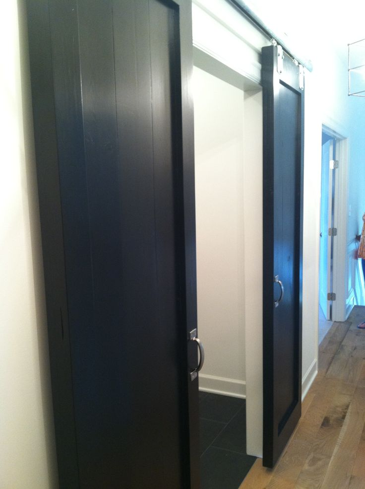 Sliding door for laundry room or pantry for the home for Laundry room sliding doors