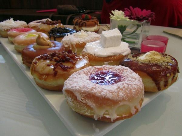 Jelly Doughnut Pancakes Recipe — Dishmaps