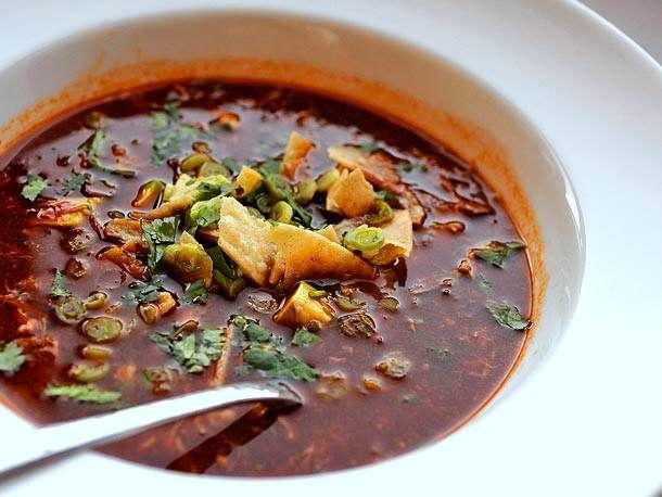 Turkey Tortilla Soup from Serious Eats. http://punchfork.com/recipe ...