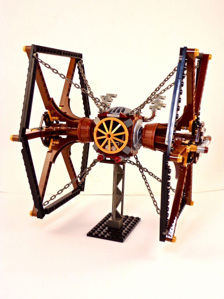 Skillful Steampunk Lego Star Wars Spaceships