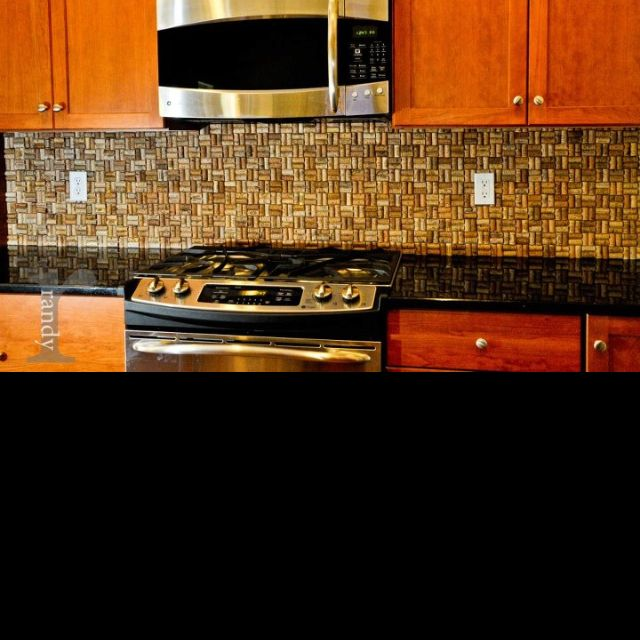wine cork backsplash i think this would look great in my kitchen and