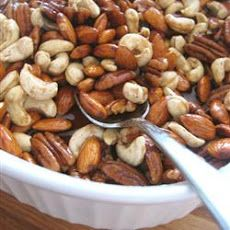 Microwave Spiced Nuts | Candy | Pinterest