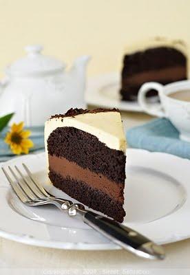 ... Sensation: Torta od čokolade i naranče / Chocolate Orange Layer Cake