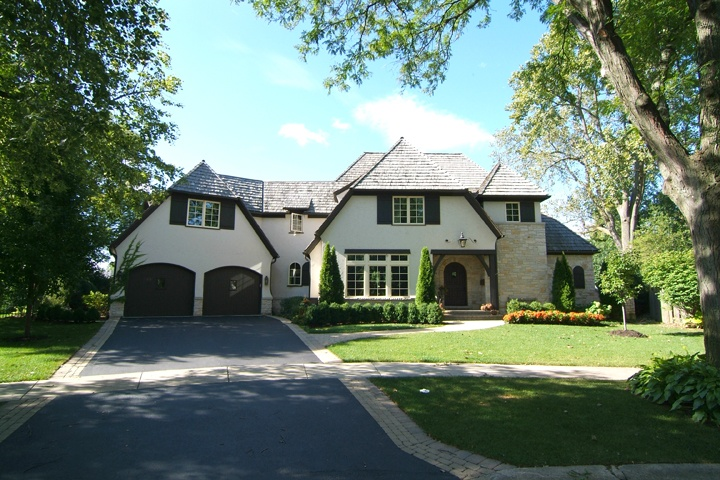 French Style Stucco Stone Home Dream Home Pinterest