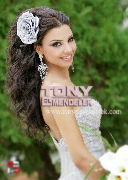 Long loose wedding prom hairstyle wavy brown hair Wedding hairstyles on prom and wedding dresses short emo hairstyles