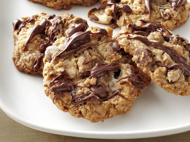 Monster Marshmallow Cookies #cookies #marshmallow