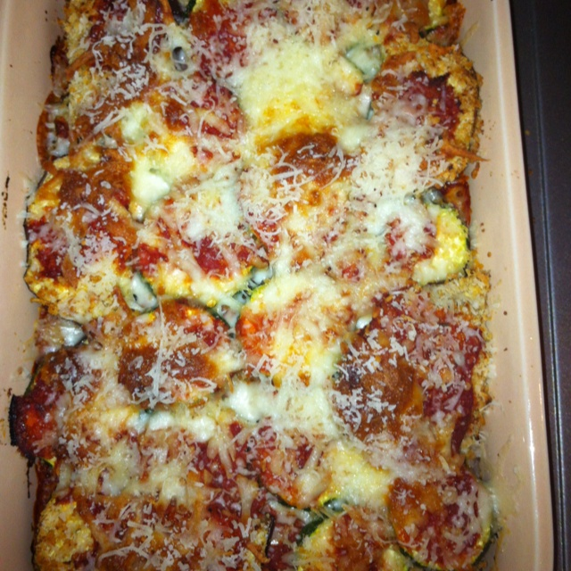 Baked Eggplant-Zucchini Parmesan | Life is What You Bake of It | Pint ...