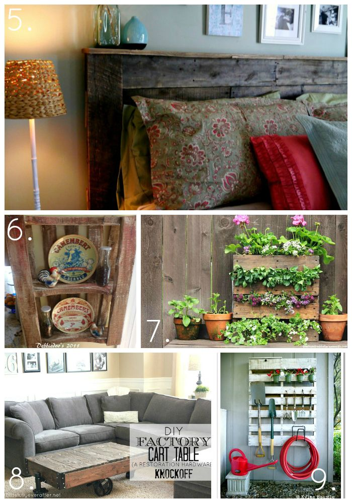 top upcycled pallet projects crafts and diy pinterest
