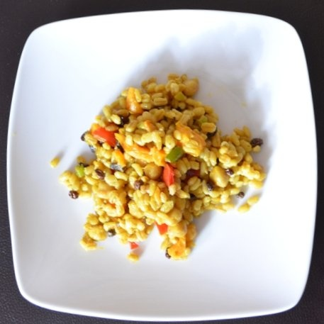 Curried Barley Salad | Recipes (I'd like to try) | Pinterest
