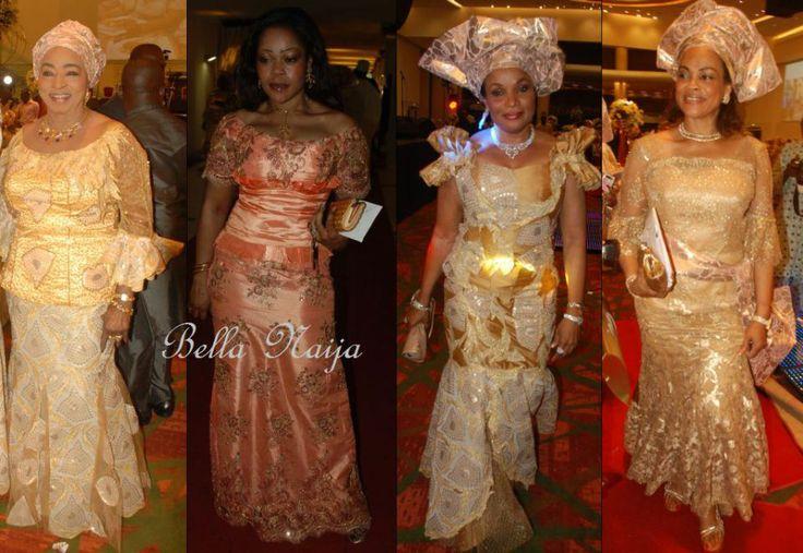 Bella naija evening dresses 2014 sheriff shagaya maryam tukur