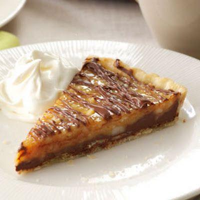 Chocolate-Nut Caramel Tart | Desserts | Pinterest