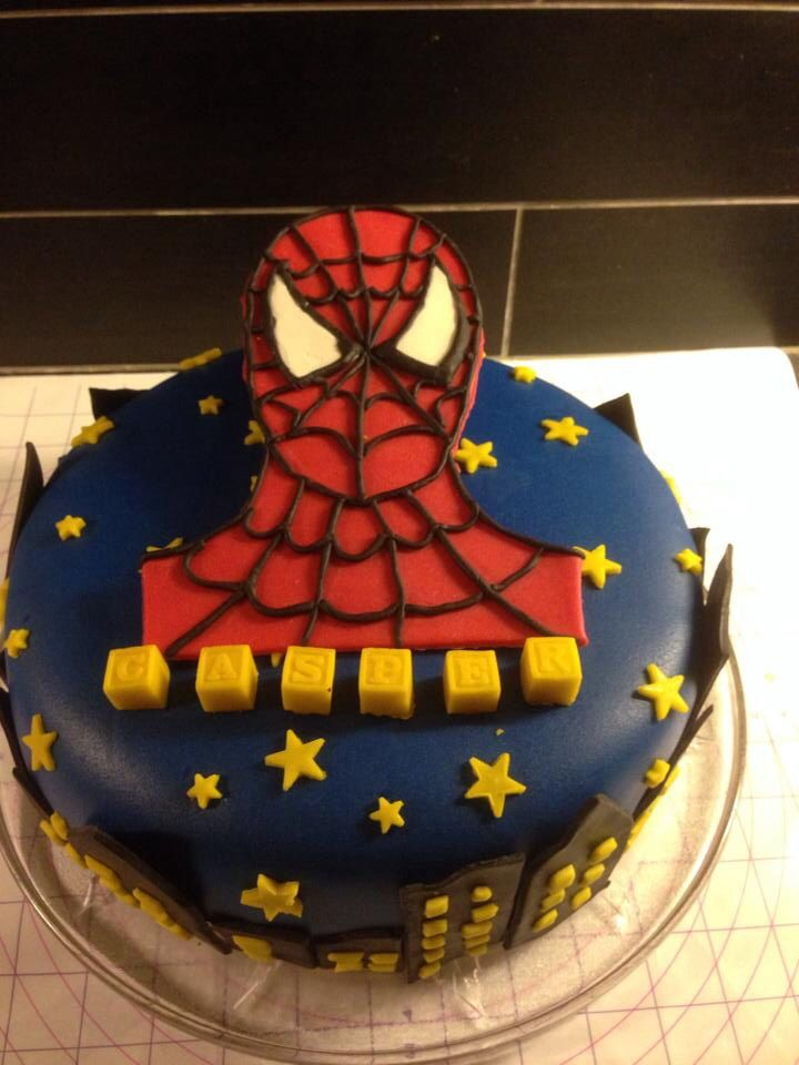 Birthday Cake Designs For 8 Year Old Boy : Birthday cake for my 4 year old boy Cake ideas Pinterest