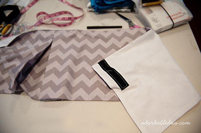 adjustable pleated crib skirt tutorial nursery