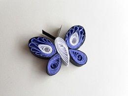 quilled butterfly | paper quilling | pinterest | quilling