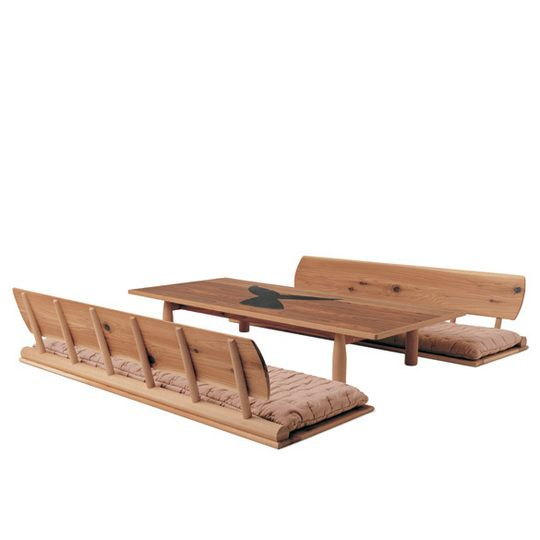 Low Table Legless Chair Japanese Interior Pinterest