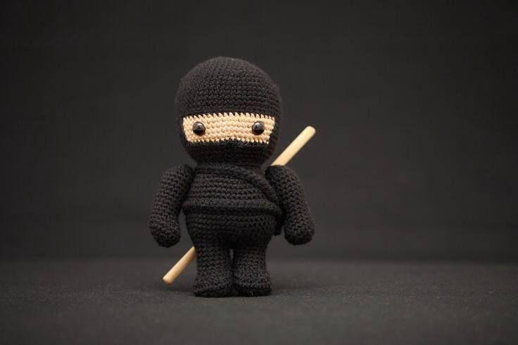 Amigurumi Ninja : Crocheted Ninja #Crochet, #Ninja, #Toy THREADS - CROCHET ...