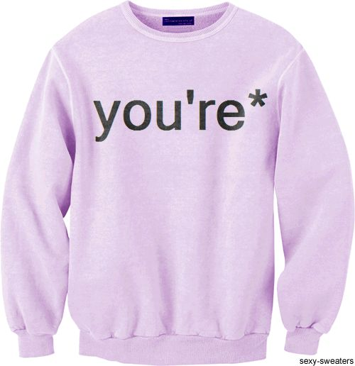 perfect sweater