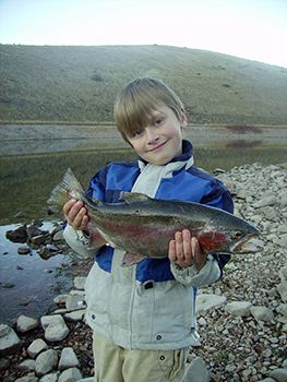 Fishing in utah to fish in central utah you can take advantage of