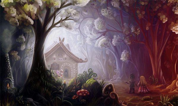 fairy tale hansel and gretel