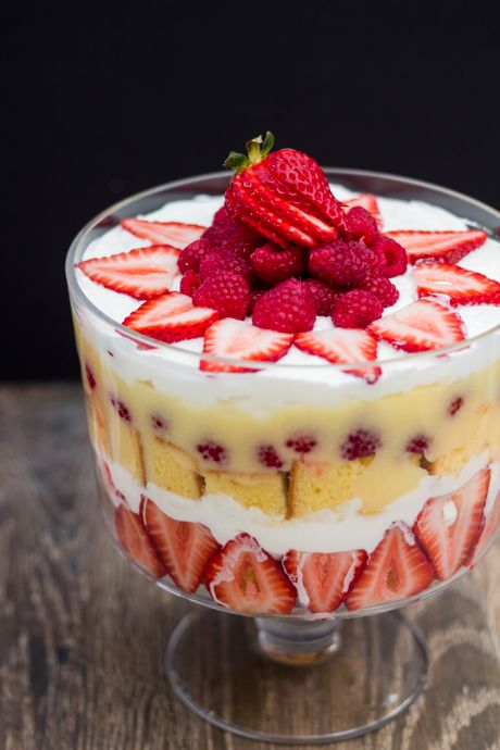 Lemon Berry Trifle | Desserts | Pinterest