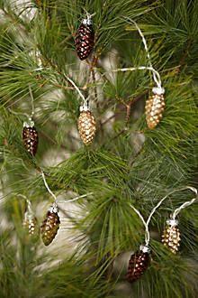 pinecone lights