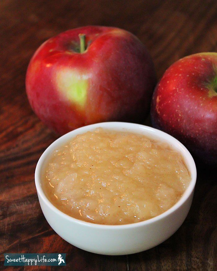 Easy Homemade Applesauce | Recipe