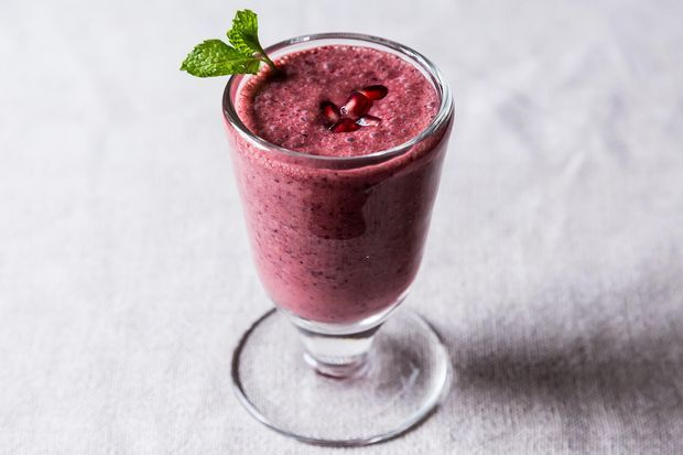Triple Pomegranate Smoothie | Recipe