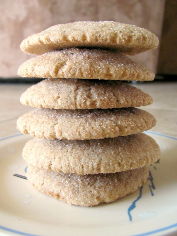 skinny whole wheat snickerdoodles recipes dishmaps skinny whole wheat ...