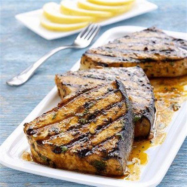 grilled swordfish steaks | GREEK fish | Pinterest