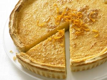 Orange and Rosemary Tart | Recipe