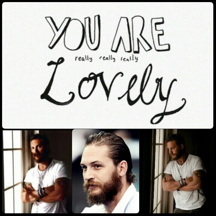 you are really lovely: