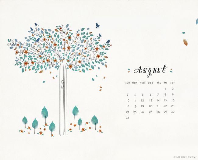 august wallpaper calendar of - photo #36