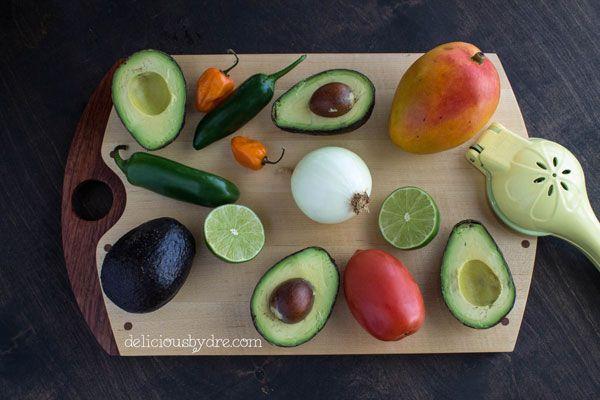 mango habanero guacamole | Delicious | Pinterest