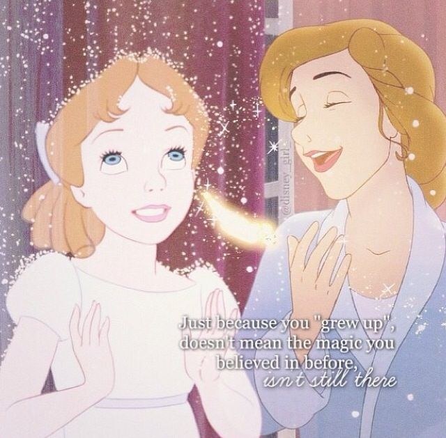 I will never forget the magic! I DO believe in fairies. :)