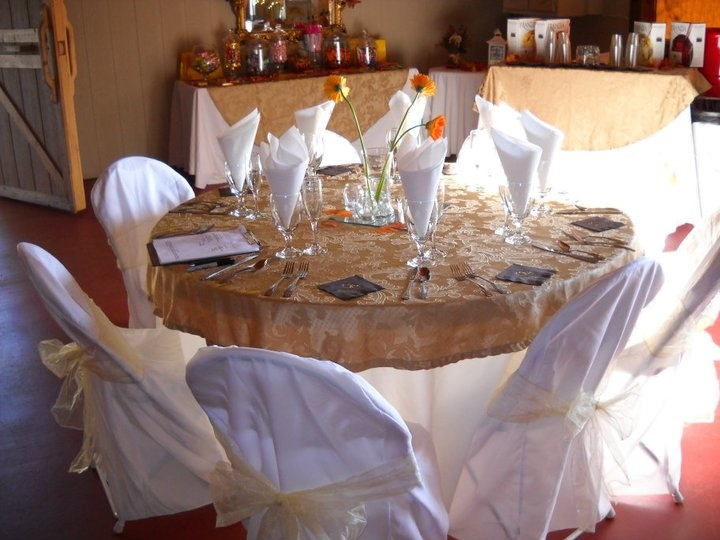 simple fall wedding table setting yes a mims salomone