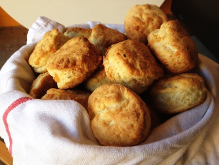 martha-style cheddar sage biscuits | Foodies | Pinterest
